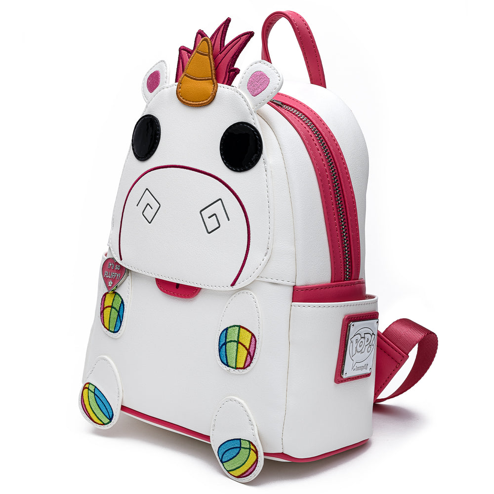 Funko Pop! by Loungefly X Despicable Me Fluffy Unicorn Cosplay Mini Backpack-zoom