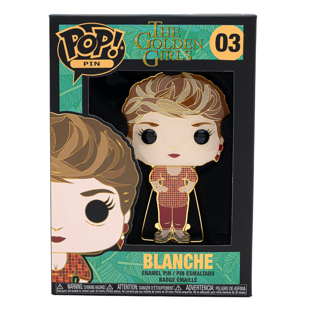 The Golden Girls Blanche Funko Pop! Pin-zoom