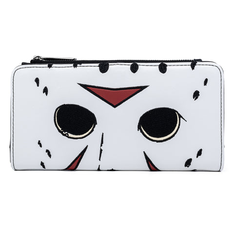 Loungefly Friday The 13th Jason Mask Flap Wallet