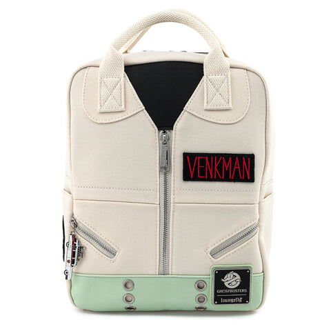 Ghostbusters Venkman Cosplay Square Canvas Mini Backpack