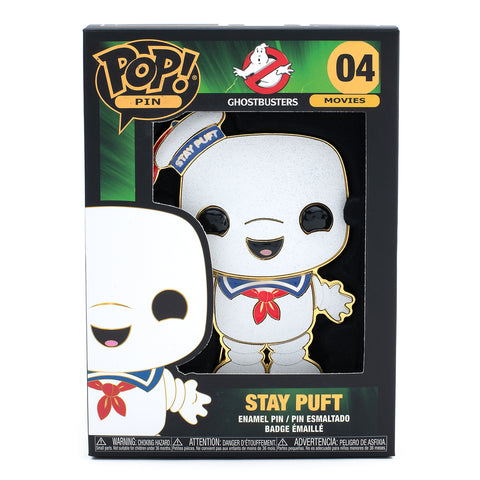 Ghostbusters Stay Puft Funko Pop! Pin