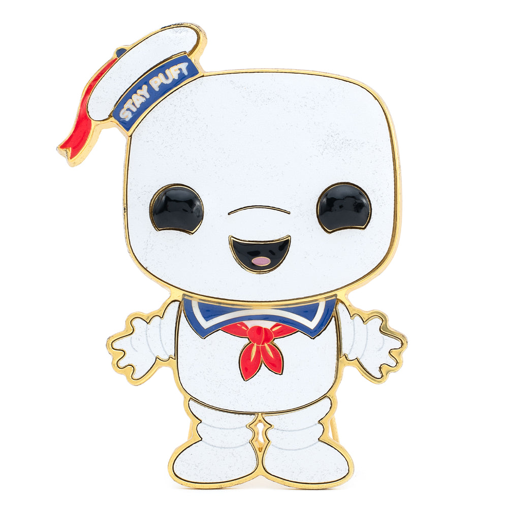 Ghostbusters Stay Puft Funko Pop! Pin-zoom