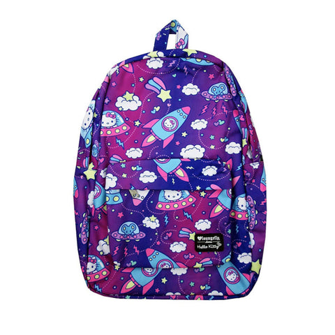 Loungefly X Hello Kitty Outerspace AOP Nylon Backpack