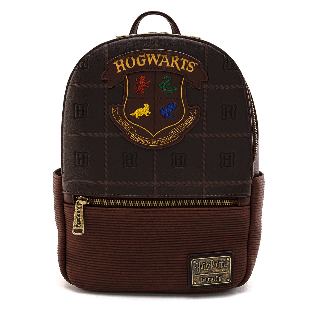 Loungefly X Harry Potter Hogwarts Crest Mini Backpack-zoom