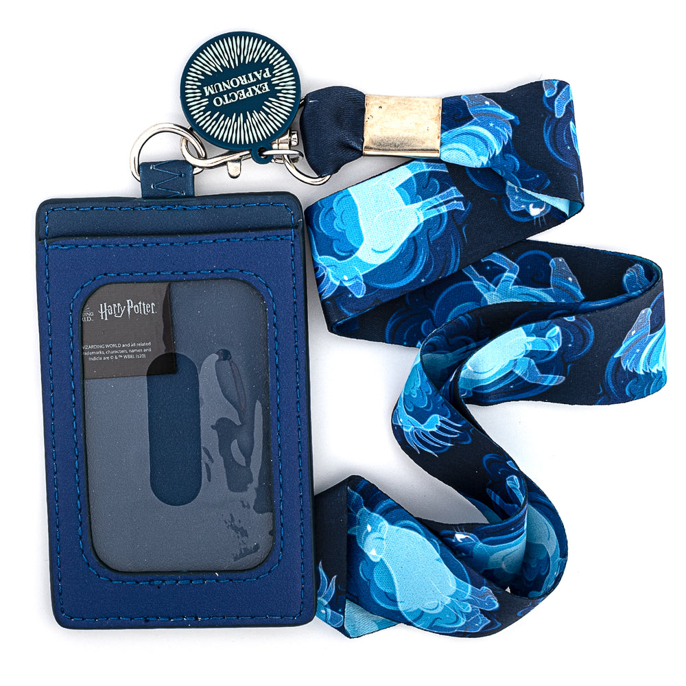 Harry Potter Expecto Patronum Lanyard with Cardholder-zoom