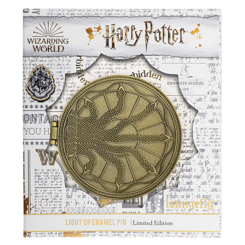 Harry Potter Basilisk Collector Box Light Up Enamel Pin