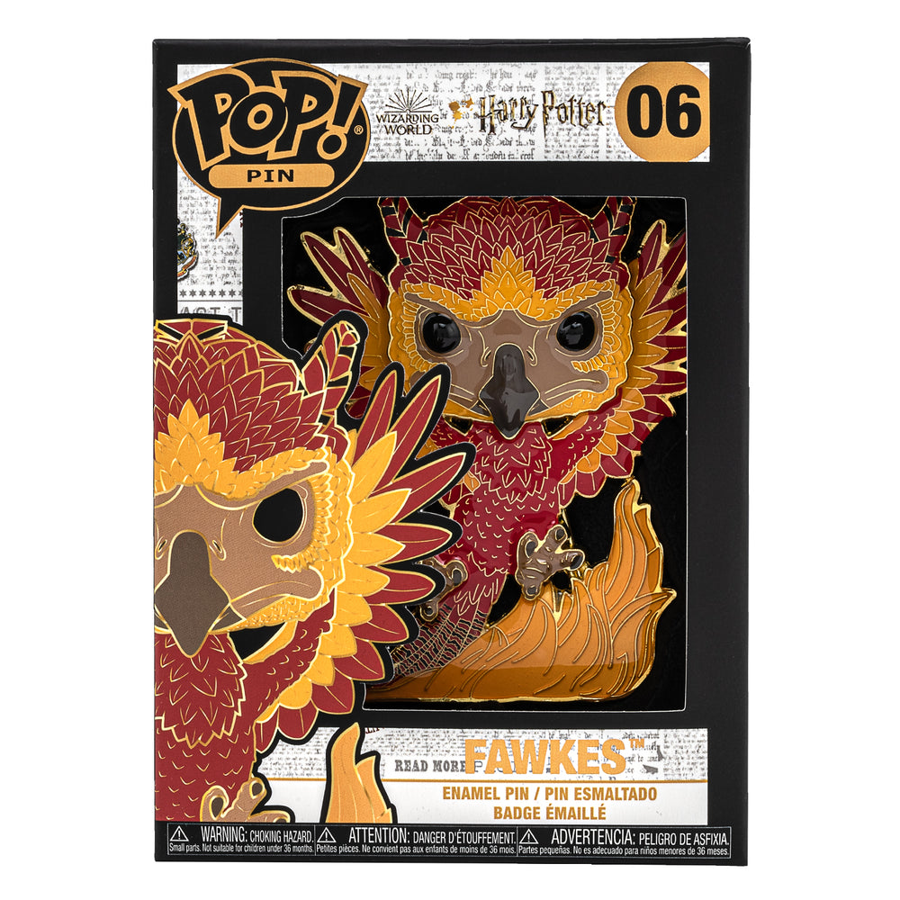 Harry Potter Fawkes Funko Pop! Pin-zoom