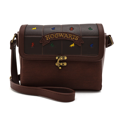Loungefly X Harry Potter Hogwarts Crest Cross Body Bag