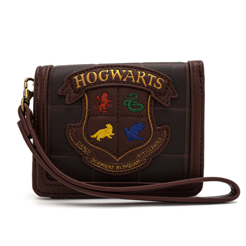Loungefly X Harry Potter Crest Wristlet Wallet