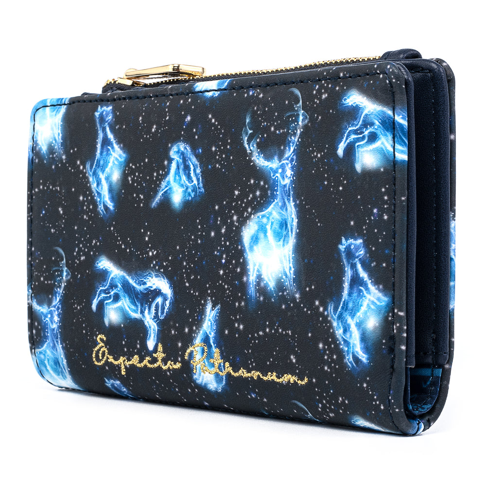 Harry Potter Expecto Patronum AOP Flap Wallet-zoom