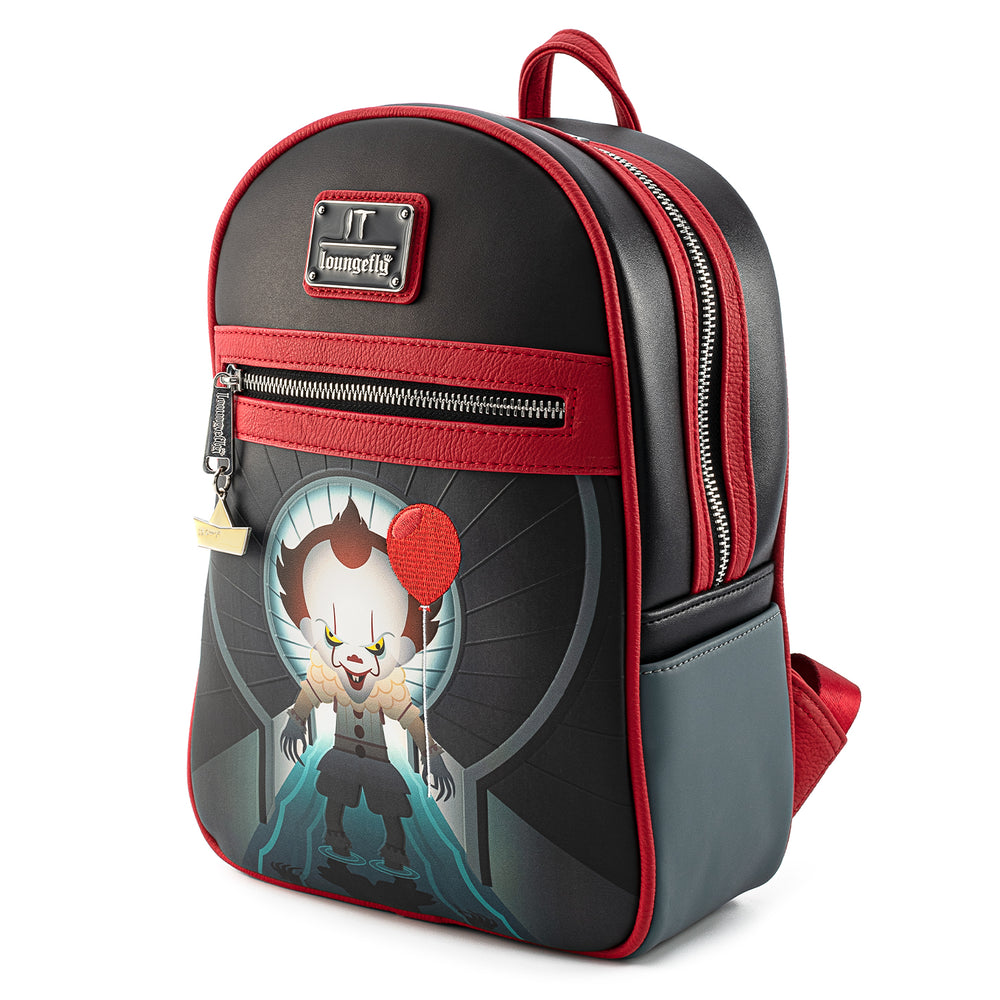 Loungefly X IT Sewer Scene Pennywise mini Backpack-zoom