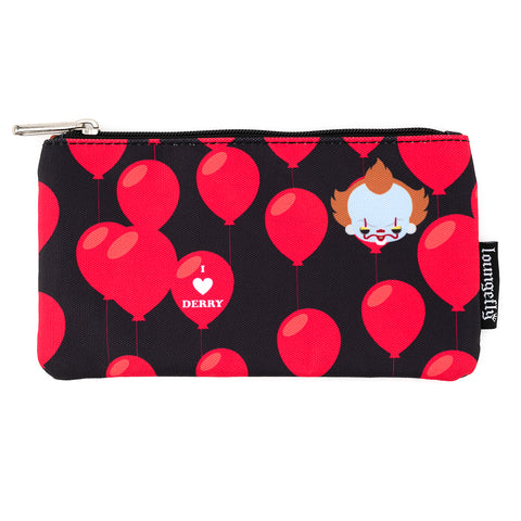 Loungefly X IT I Heart Derry AOP Nylon Pouch