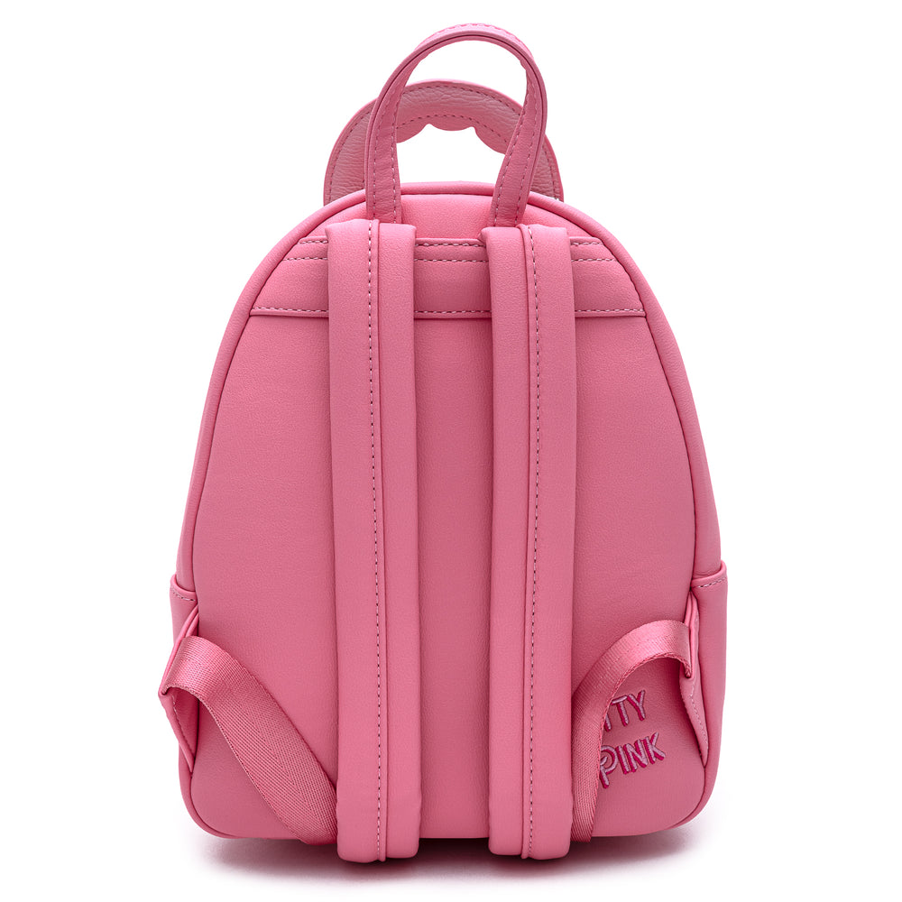 Loungefly Pool Party Flamingo Mini Backpack-zoom