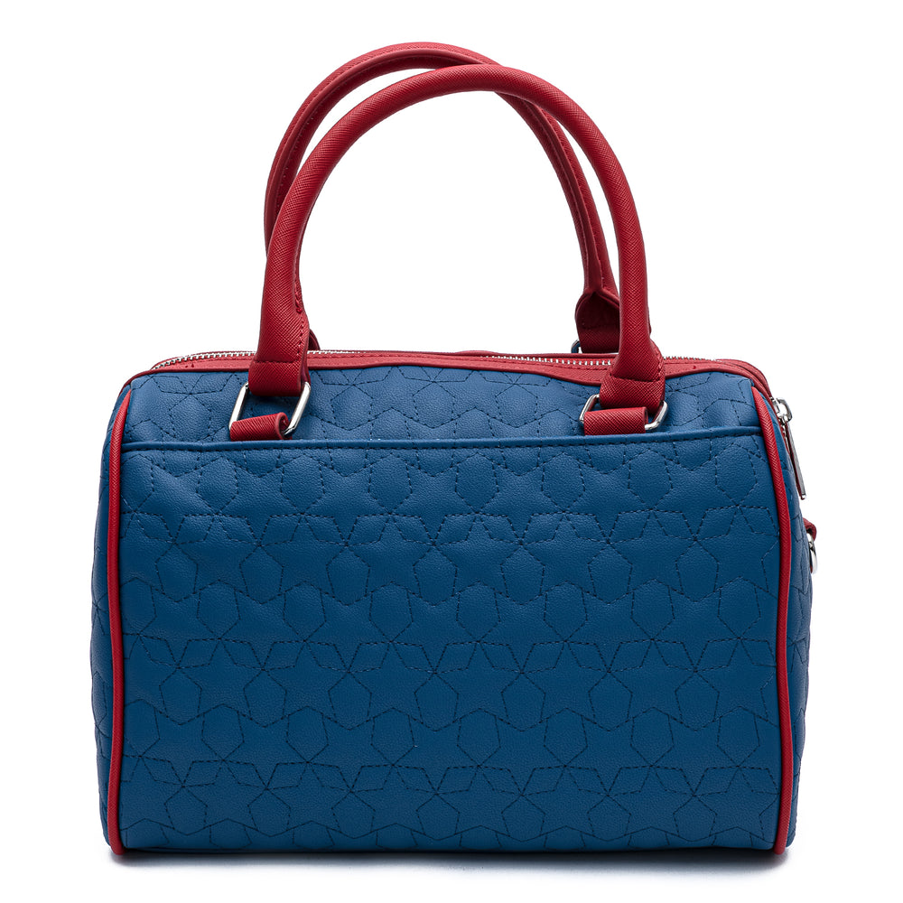 Loungefly Americana Quilted Crossbody Bag-zoom