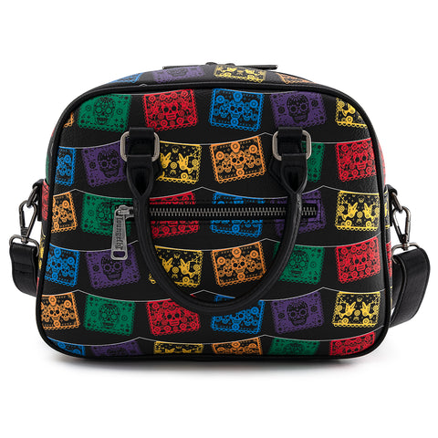Loungefly Dia De Los Muertos Papel Picado Cross Body Bag