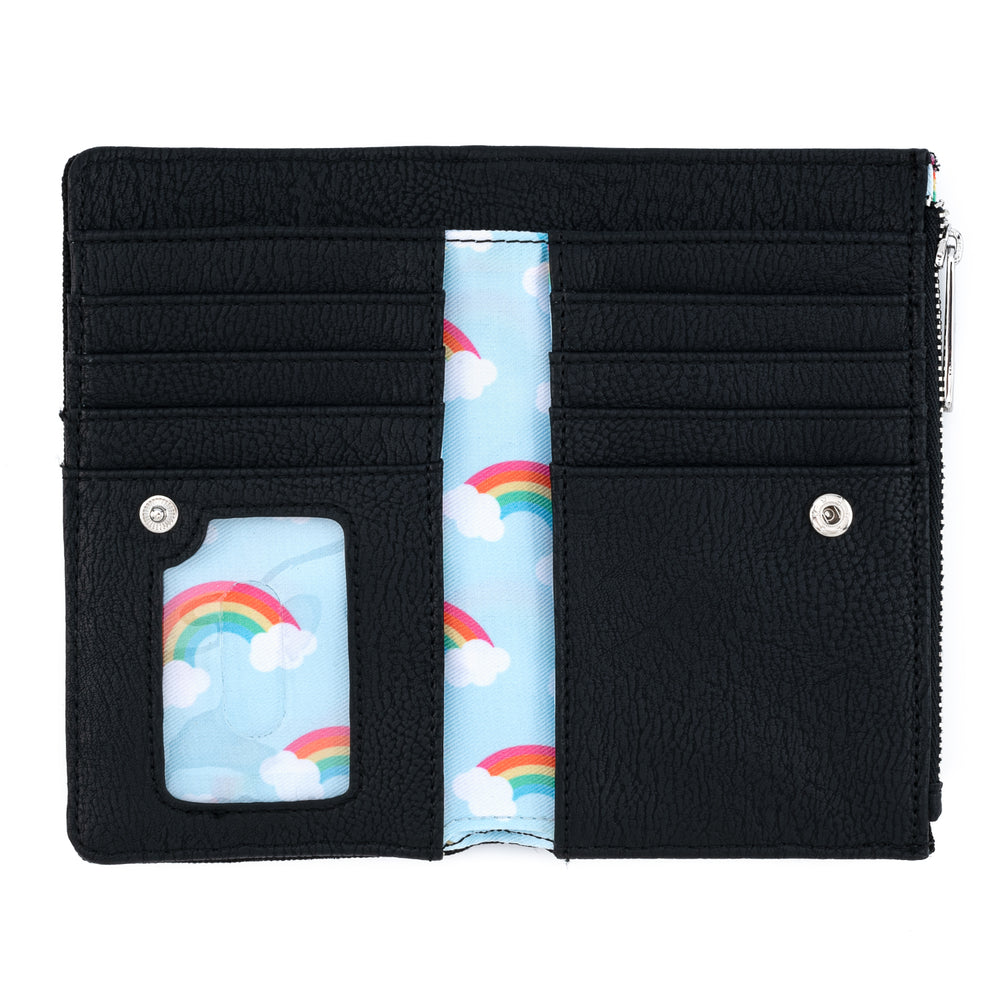 Loungefly Rainbow Pride Canvas Wallet-zoom