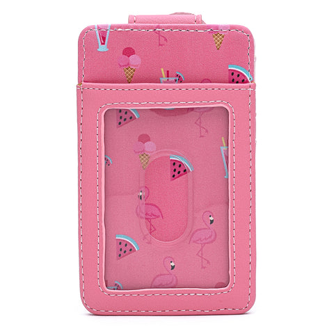 Loungefly Pool Party Flamingo Cardholder