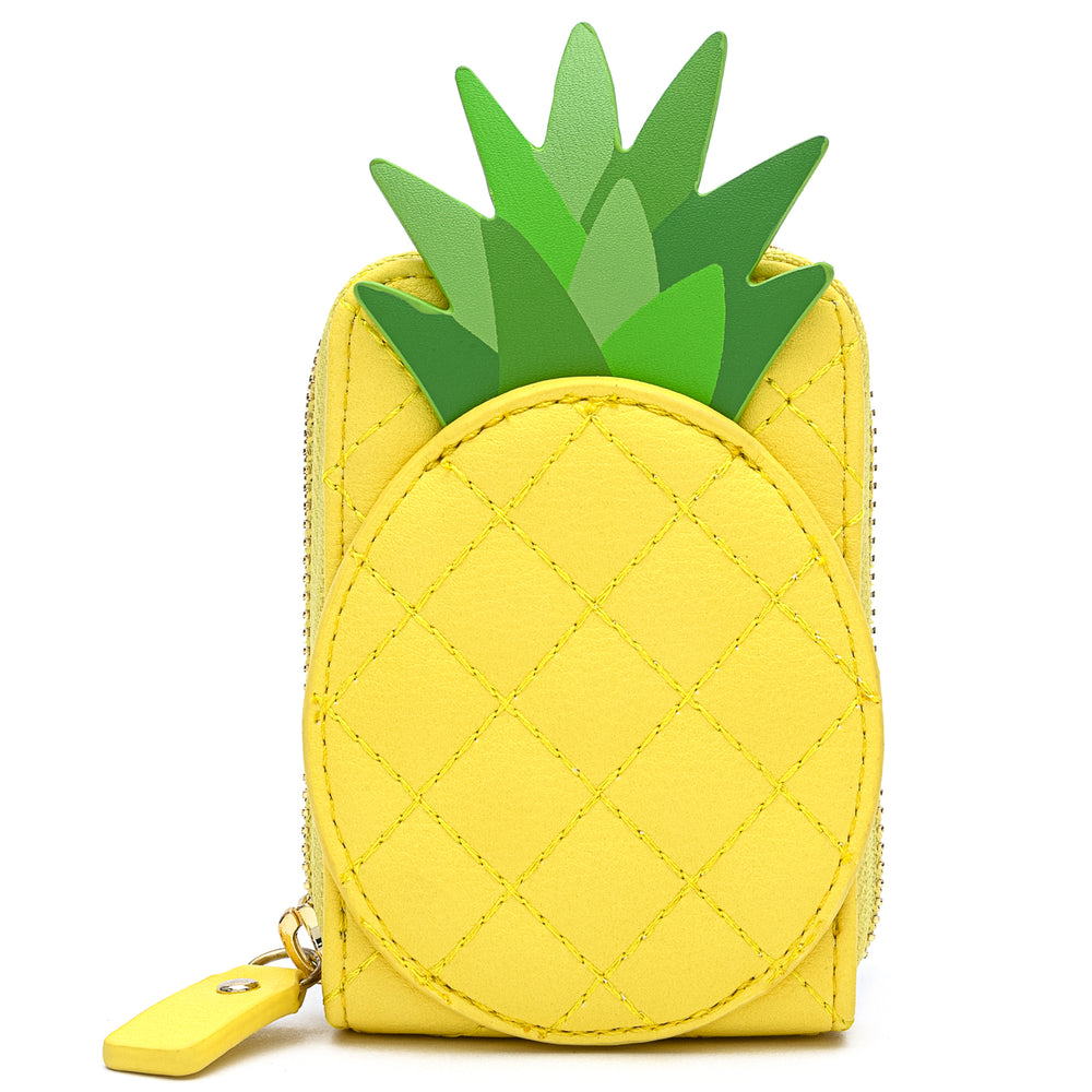Loungefly Pool Party Pineapple Accordion Wallet-zoom
