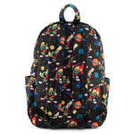 Loungefly X Looney Tunes Marvin The Martian AOP Nylon Backpack