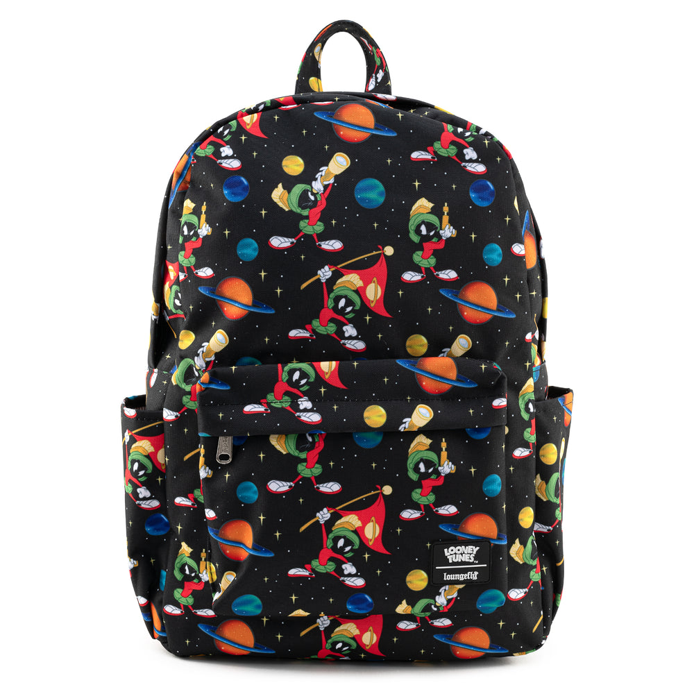 Loungefly X Looney Tunes Marvin The Martian AOP Nylon Backpack-zoom