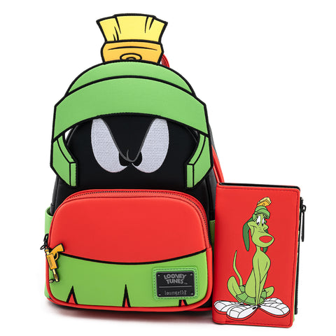 Loungefly X Looney Tunes Marvin The Martian Cosplay Mini Backpack