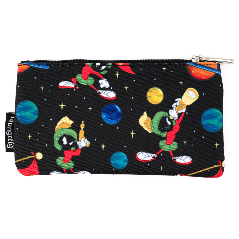 Loungefly X Looney Tunes Marvin The Martian AOP Nylon Pouch-zoom