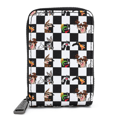 Loungefly X Looney Tunes Character Checker Accordion Wallet