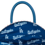 Loungefly X MLB LA Dodgers Baseball Stitch Dome Cross Body Bag