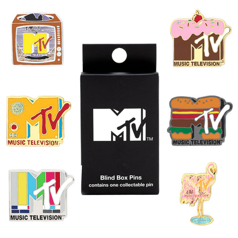Loungefly X MTV Logos Blind Box Pin