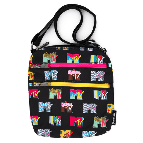 Loungefly X MTV Logo AOP Nylon Passport