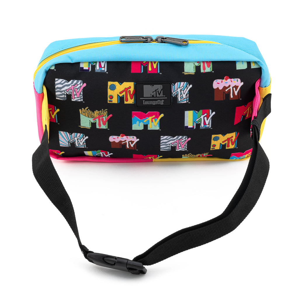Loungefly X MTV Logo AOP Waist Bag-zoom