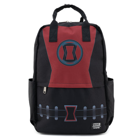 Loungefly X Marvel Black Widow Cosplay Nylon Backpack