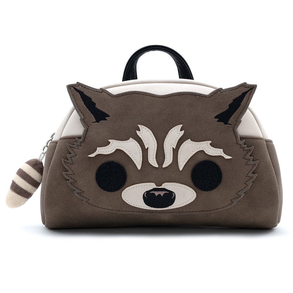 Pop by Loungefly X Marvel GOTG Rocket Raccoon Cosplay Fanny Pack-zoom