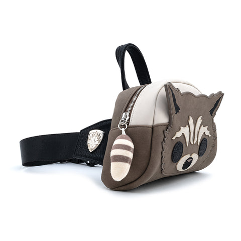 Pop by Loungefly X Marvel GOTG Rocket Raccoon Cosplay Fanny Pack