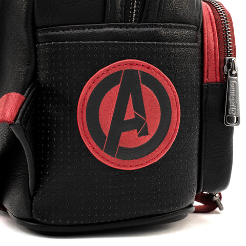 CAPTAIN MARVEL RED SUIT Loungefly Disney Cosplay Mini BackPack