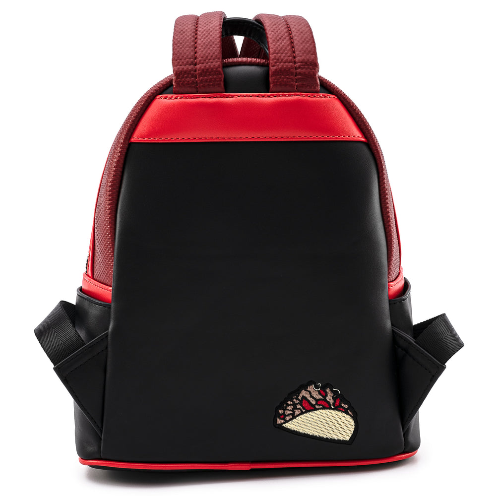 Marvel Deadpool Merc With A Mouth Cosplay Mini Backpack-zoom