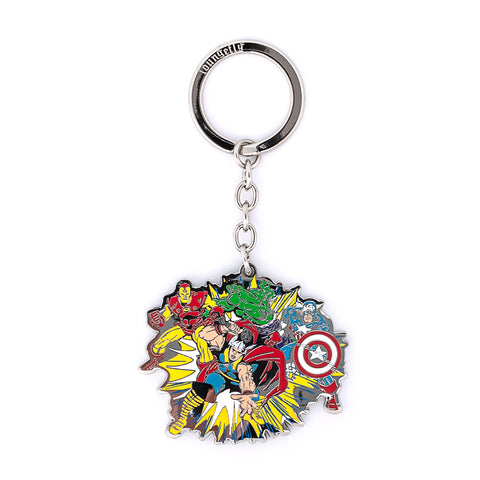 Marvel The Crew Enamel Keychain