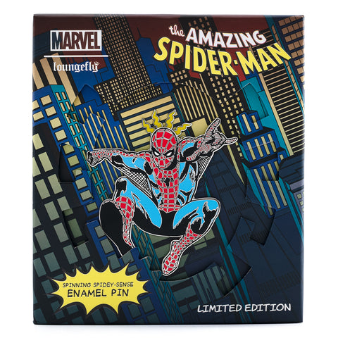 Marvel Amazing Spider-Man Limited Edition Spinning Enamel Pin