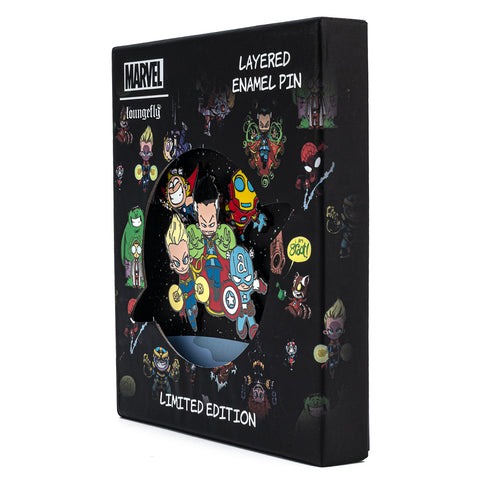 Marvel Skottie Young Collector Box Sliding & Glow Enamel Pin