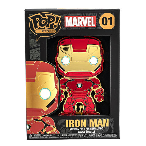 Marvel Iron Man Funko Pop! Pin