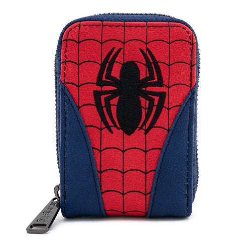 Loungefly X Marvel Spider-man Classic Cosplay Accordion Wallet