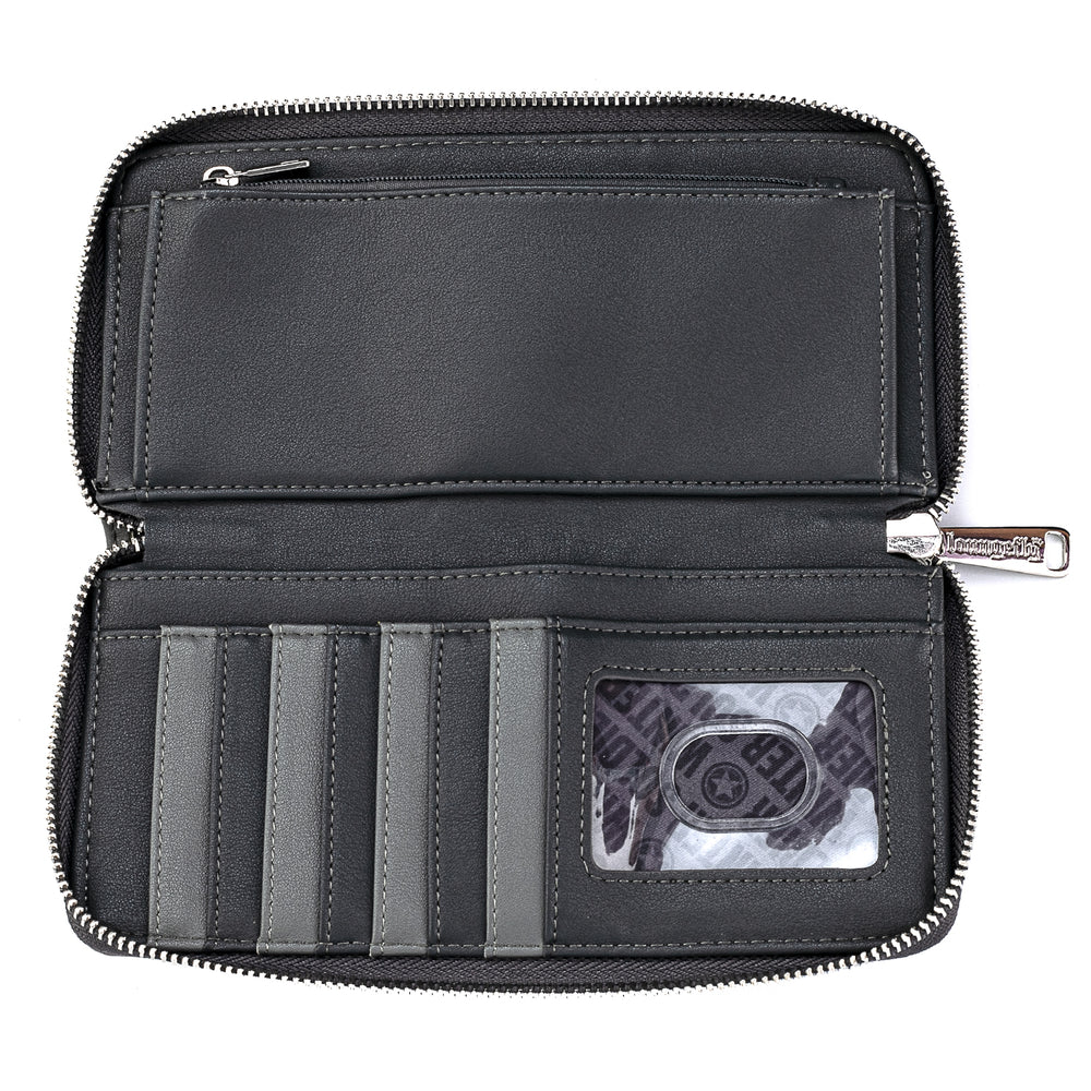 Marvel Winter Soldier Cosplay Zip Around Wallet-zoom