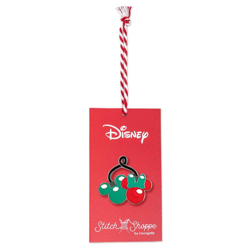 "Disney Stitch Shoppe Mickey & Minnie Mouse Lights ""Olivia"" Dress-zoom"
