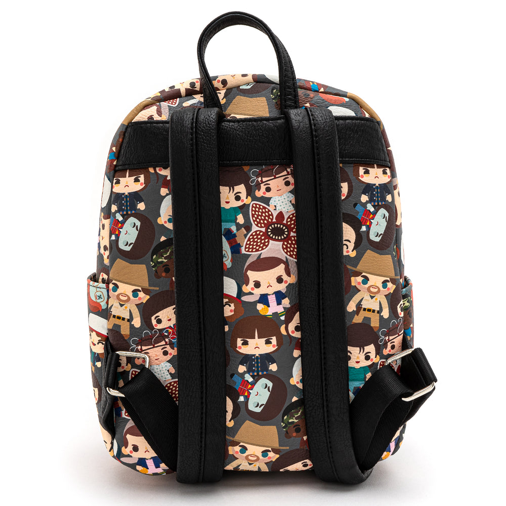 Loungefly X Stranger Things Chibi AOP Mini Backpack-zoom