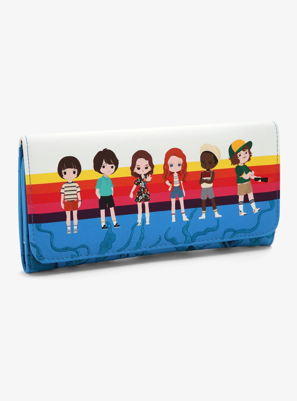 Stranger Things Chibi 2019 SDCC Exclusive Wallet-zoom