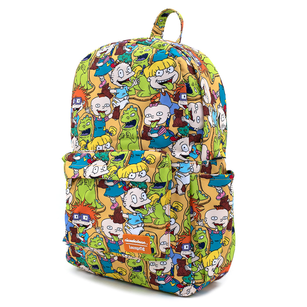 Loungefly X Nickelodeon Rugrats AOP Nylon Backpack-zoom