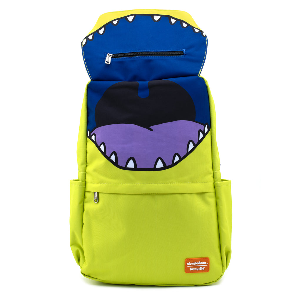 Loungefly X Nickelodeon Reptar Cosplay Nylon Backpack-zoom