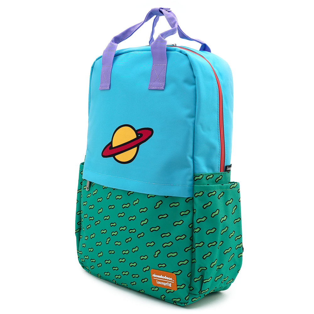 Nickelodeon Rugrats Chuckie Cosplay Nylon Backpack-zoom