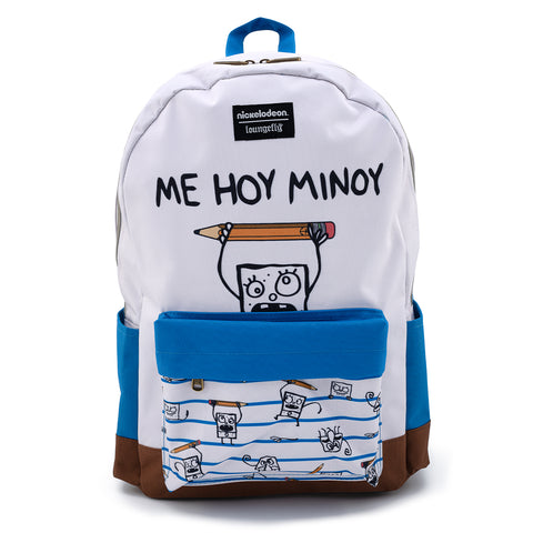 Loungefly X Spongebob Doodlebob Nylon Backpack