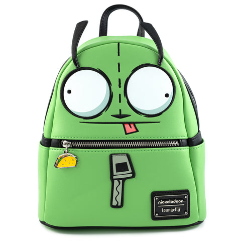 Loungefly X Nickelodeon Invader Zim Gir in Dog Suit Cosplay Mini Backpack